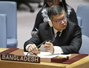 Momen urges UNSC to solve Rohingya, Palestine crises