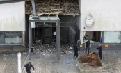 Powerful explosion rocks Swedish police station