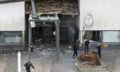 Powerful explosion rocks Swedish police station