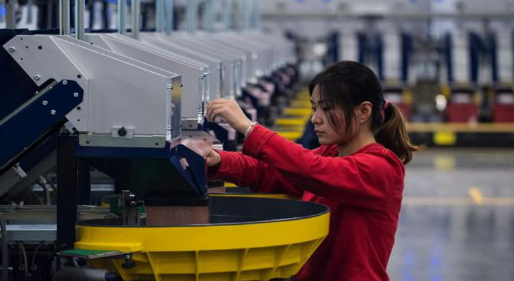 China growth eases in third quarter
