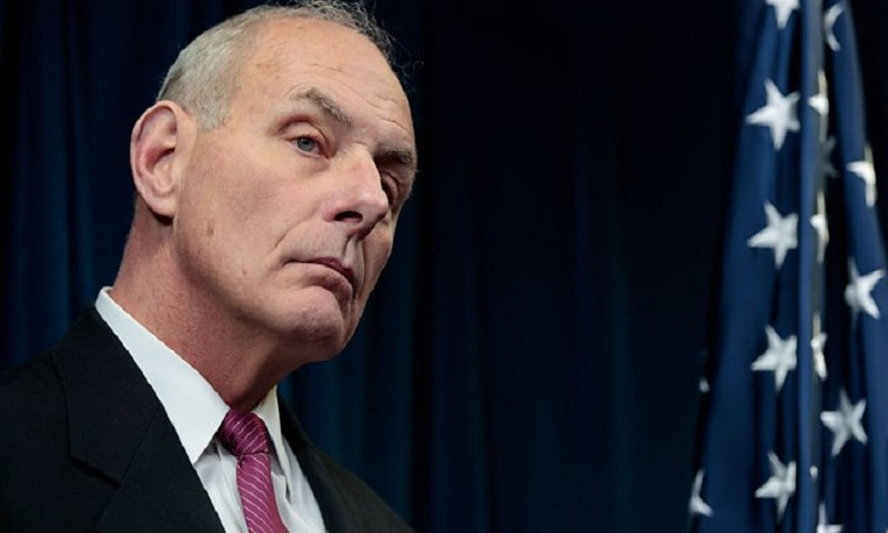 White House chief of staff John Kelly defends Trump over widow remarks