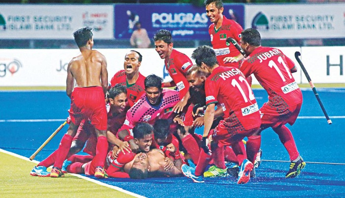 Bangladesh beat China 4-3 in Asia Cup Hockey