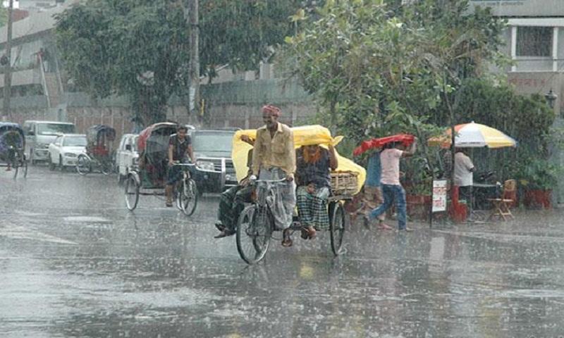 Light rain, gusty wind continue