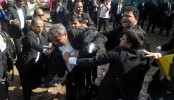 BNP lawyers' fistfight in front of TV cameras