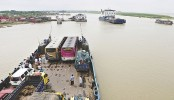 Ferry, launch services suspended on Shimulia-Kanthalbari route