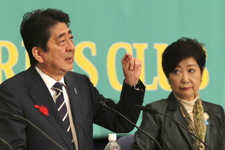 Japan votes: Incumbent PM Abe appears headed to victory