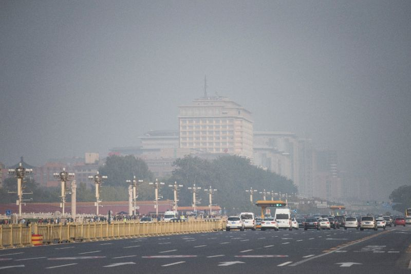 Smog defies China's Communist Party congress