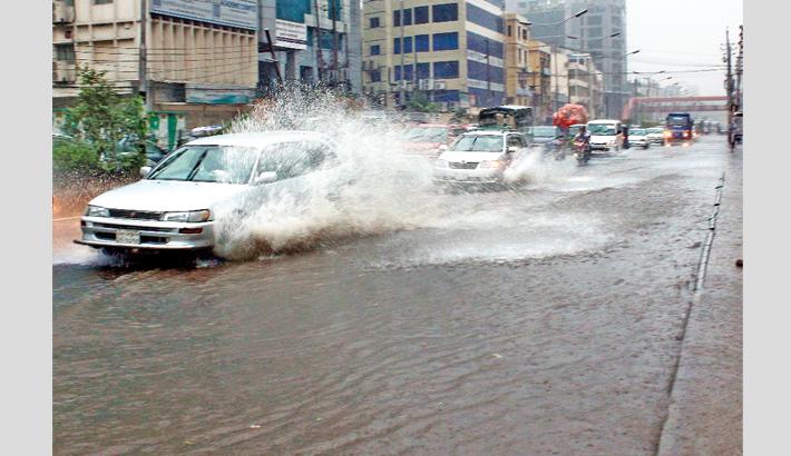 Rain ruins civic life