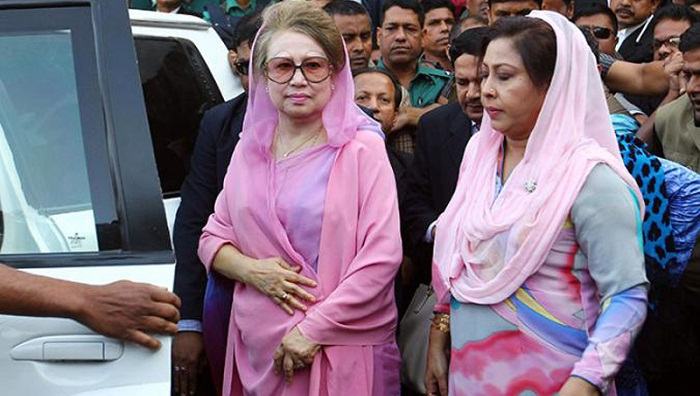 Govt keeps eye on Khaleda's activities