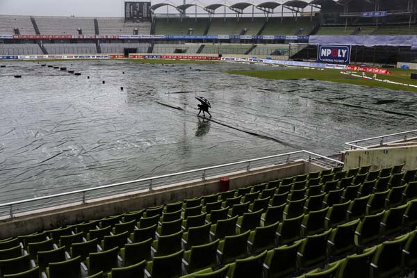 Rain again hits Bangladesh-Ireland unofficial ODI series