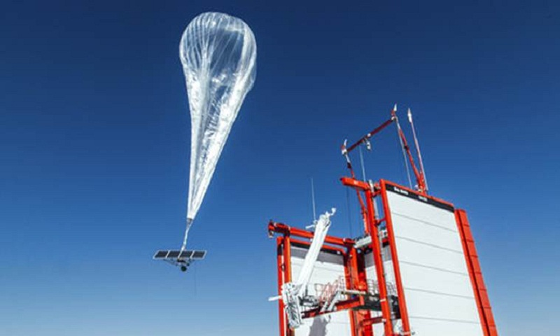 Google parent turns on internet balloons in Puerto Rico