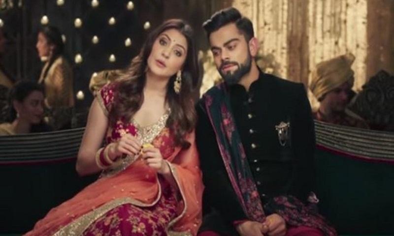 Virat Kohli, Anushka Sharma exchange wedding vows in this ad (Video)