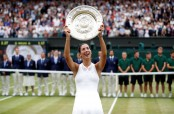 Wimbledon champ Muguruza earns WTA Player of the Year honors