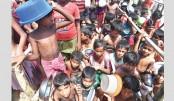 Unicef seeks urgent funds  for Rohingya children