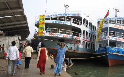 Water transport services on all routes suspended