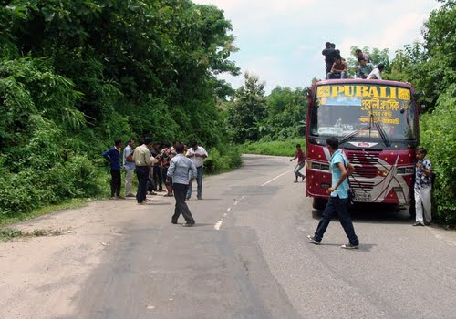 Road link of Rangamati, Khagrachhari with Chittagong snapped