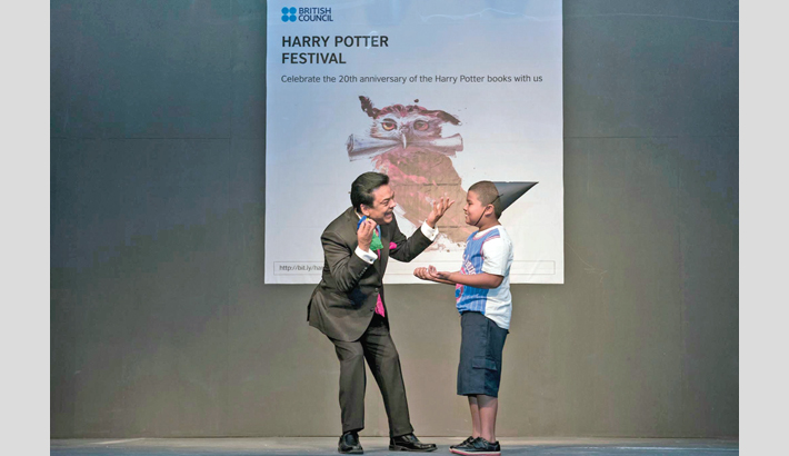 British Council celebrates Harry Potter Festival