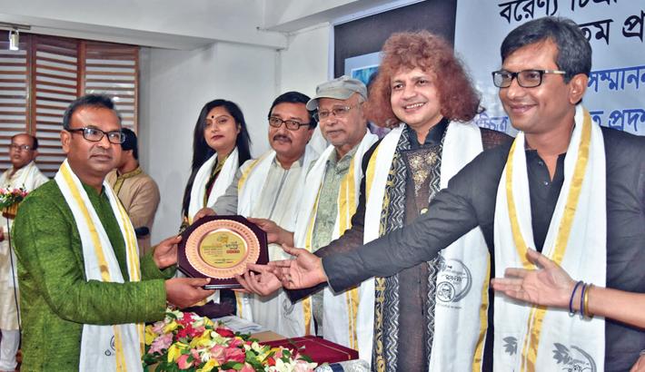 Artist Aminul gets SM Sultan Award