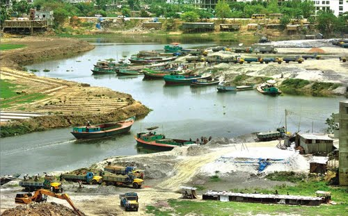 High Court order sought to stop Turag encroachment