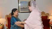 Khaleda to meet Sushma tonight at Sonargaon hotel