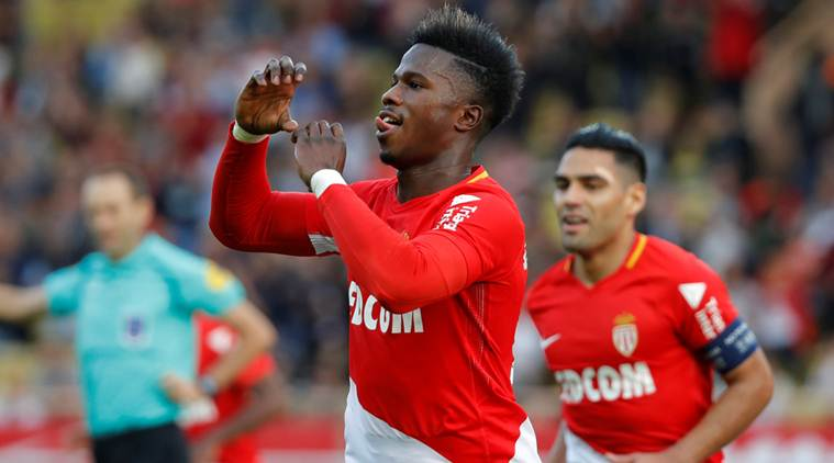 Balde and Falcao score as Monaco beats Caen 2-0 in Ligue 1
