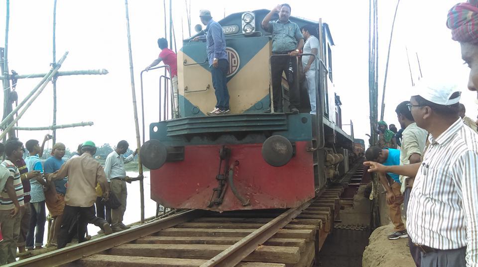 Dhaka's rail link with northern region restored