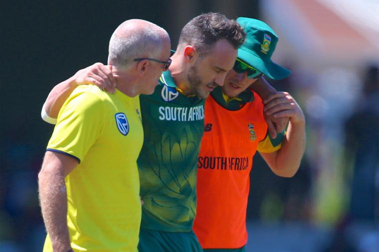 Du Plessis injury spoils South Africa win vs Bangladesh