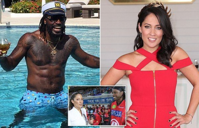 Gayle denies exposing himself to masseuse