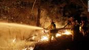 Firefighters still battling 10 wildfires in California