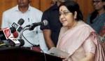 Rohingya return key to crisis solution: Sushma