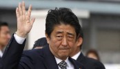 Japan Prime Minister Shinzo Abe targets North Korea after win