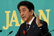 Japan PM Shinzo Abe promises to deal with North Korea threat