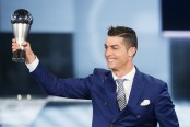 Regal Ronaldo tipped for Best FIFA award