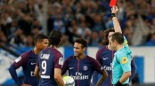 Neymar off as Cavani rescues PSG with late goal in 2-2 draw