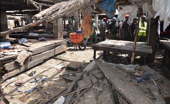 Nigeria triple suicide attack kills 13: security sources