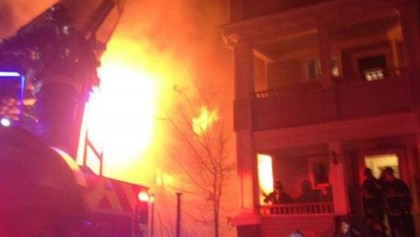 """8 of a family burned in Demra """"gas leak explosion"""""""