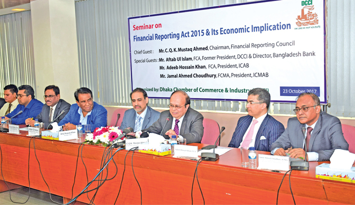 Call for quick implementation of Financial Reporting Act