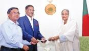 Obaidul Quader donates to PM relief fund