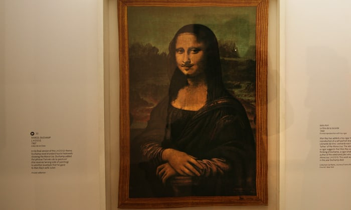 Moustachioed Mona Lisa sells for $750,000