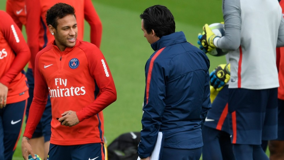 Neymar must learn from sending-off, says PSG's Emery
