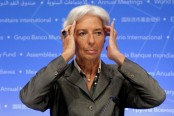 IMF chief warns of 'dark future' over climate change
