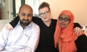 'They're my mum and dad, not terrorists'