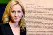 Read the original Harry Potter pitch that publishers rejected from J.K. Rowling