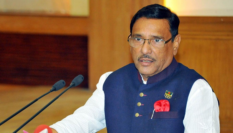 Quader accuses Khaleda of telling court lies about Hasina