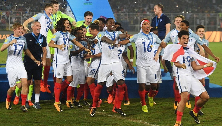 England clinch U-17 World Cup title beating Spain 5-2
