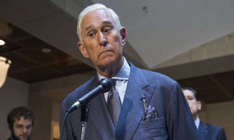 Trump ally Roger Stone suspended from Twitter