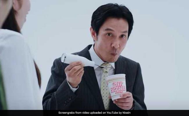 Slurp alert: Japanese fork masks noodle-sucking noise