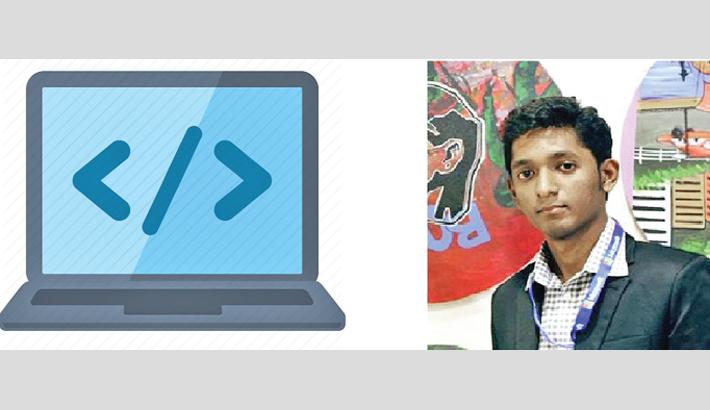 Programmer Rezwanur attends int'l summit
