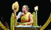 Binodini staged at Shilpakala
