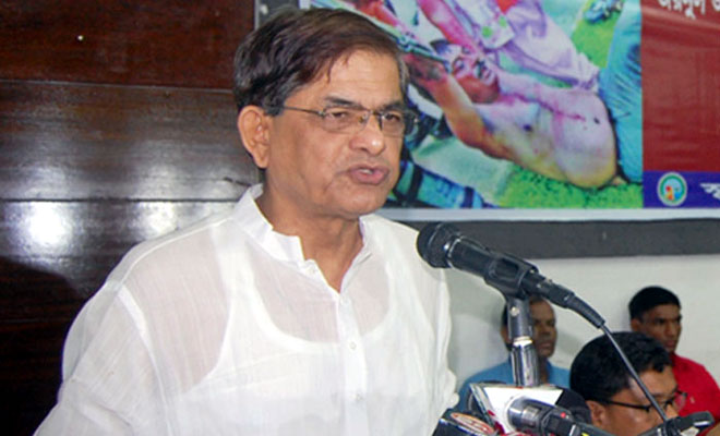 Shun path of violence, BNP to government
